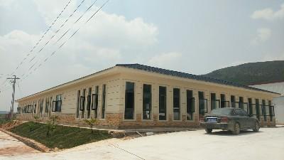 心力集团马龙蓝莓基地冷库及综合办公楼竣工完成,已投入使用