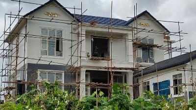 心力集团弥勒竹园自建轻钢别墅10月竣工