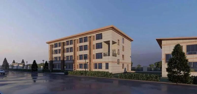 轻钢装配式建筑——教学楼