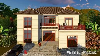 案例展示丨四川王总自建二层轻钢小别墅,当真是赚了