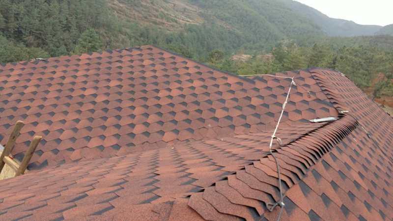 ❖ 心力集团 | 会泽自建房屋顶沥青瓦铺设