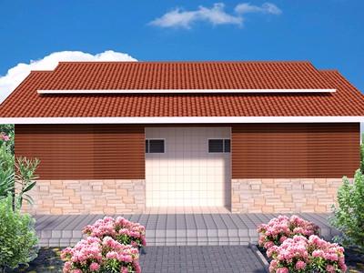 心力智造轻钢结构公厕配套公共设施建设