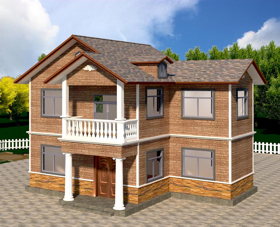 新农村住宅轻钢房屋