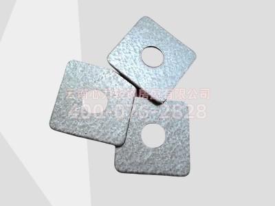 云南心力轻钢别墅房屋专用轻钢龙骨连接件方型垫片