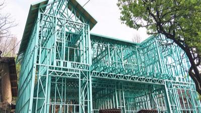 心力智造浅谈轻钢结构房屋的经济性探讨及其优点