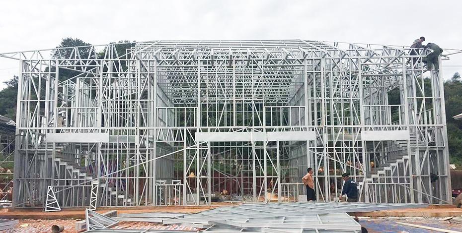冷弯薄壁型轻钢集成房屋的建房场地地基基础有什么要求?