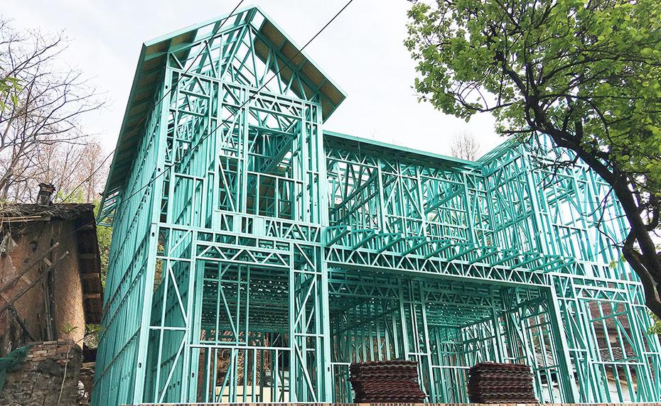 心力轻钢浅谈轻钢结构房屋的经济性探讨及其优点