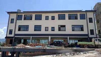 普洱市景东县4层轻钢商业住宅超漂亮内外装修案例