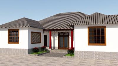 四川省攀枝花市仁和区避暑农家山庄轻钢房屋项目施工案例