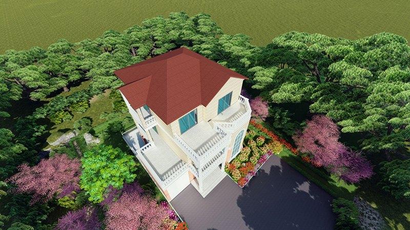 重庆市江津李府家园轻钢别墅项目施工案例